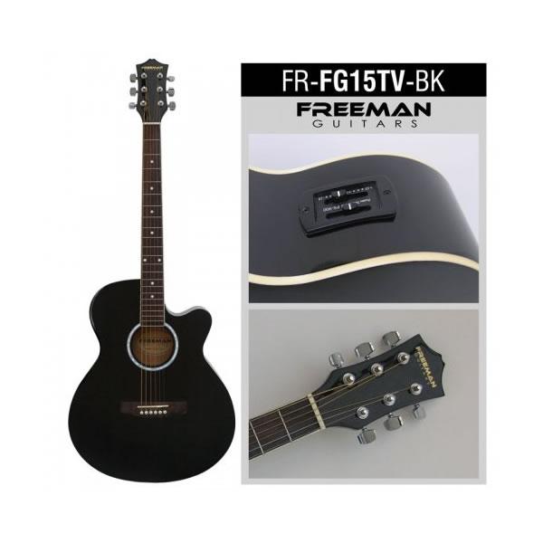 GUITARRA ELECTROACUSTICA FREEMAN,FRFG15TVB